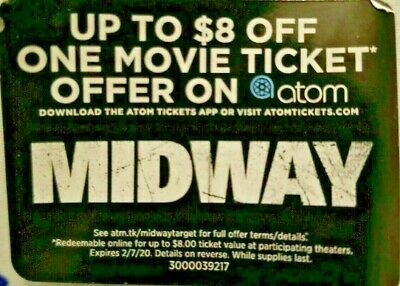 IT Chapter Two _ $8 OFF_ ATOM Digital Code Ticket