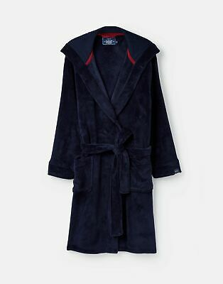 Joules 206933 Menss Dressing Gown in FRENCH NAVY