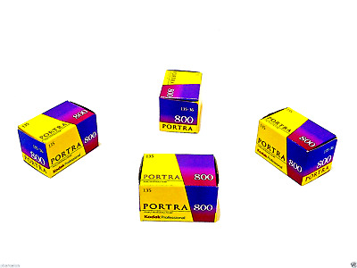 1 x Roll KODAK  PORTRA 800 COLOUR NEG Film--35mm/36 exps--FRESH--expiry: 04/2020