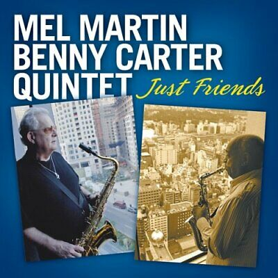Mel Martin ^ Benny Carter : Just Friends CD Incredible Value and Free Shipping!