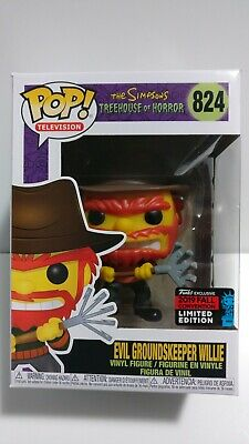 Funko Pop! Simpsons Shared 2019 NYCC Exclusive GROUNDSKEEPER WILLIE