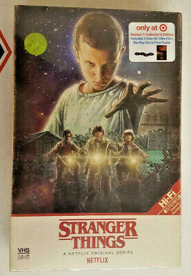 Stranger Things, Season 1 One - 4K Ultra HD Blu Ray - Target Collector's Edition