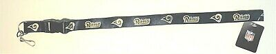 NFL St. Louis Rams Team Lanyard with detachable Key Ring Id Holder