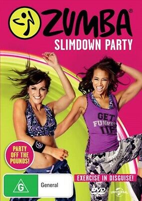Zumba Slimdown Party, DVD