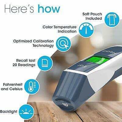 Digital Ear Forehead Thermometer iProven DMT316 FDA Approved Accurate NIB