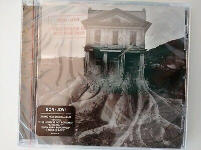Bon Jovi - This House Is Not for Sale  (CD, Nov-2016, Island (Label)) NEW SEALED