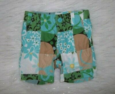 Girls Sz 2T Baby Gap Baby Gap Lawn Party Blue Green Plaid Quilted Madras Shorts