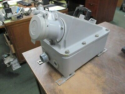 Appleton Explosion Proof Receptacle Interlocked w/ Switch EBRH1034DS 100A 600V