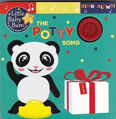 Little Baby Bum The Potty Song Sound Board Book Ages 0 Months+ Potty Training