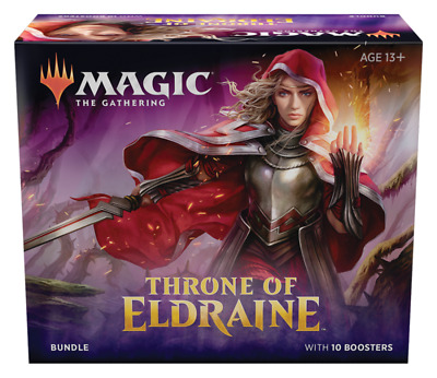 MTG Throne of Eldraine Bundle / Fat Pack - Sealed - Free Priority Shipping!