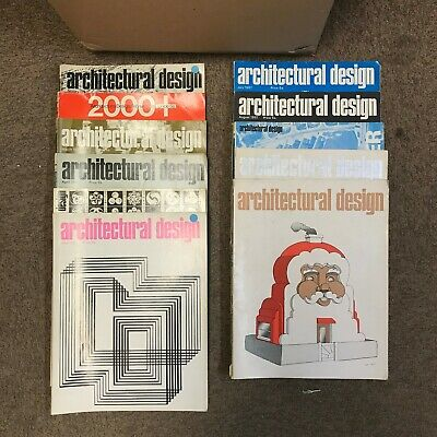 Architectural Design: Monthly Magazine: 11 Issues: 1967: Missing October