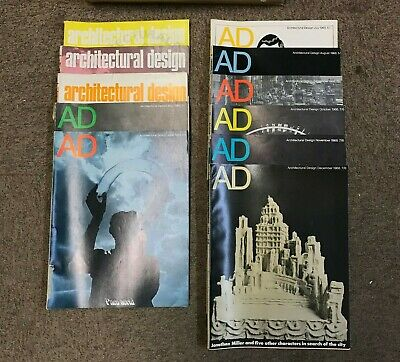 Architectural Design: Monthly Magazine: 11 Issues: 1968: Missing March
