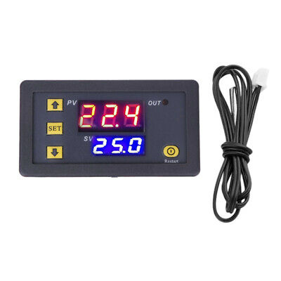 Electronic Thermostat Digital LED Heating Cooling Temperature Controller O1K9