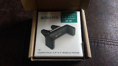 Bestrix Air Vent Cell Phone Car Mount Adjustable Size Up to 6''5 Secure Double