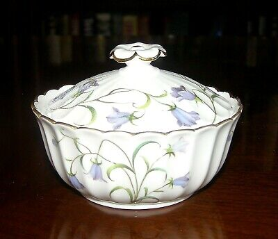 Spode Canterbury Fine Bone China Covered Sugar Bowl