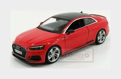 Audi A5 Rs5 Coupe 2019 Red BURAGO 1:24 BU21090R