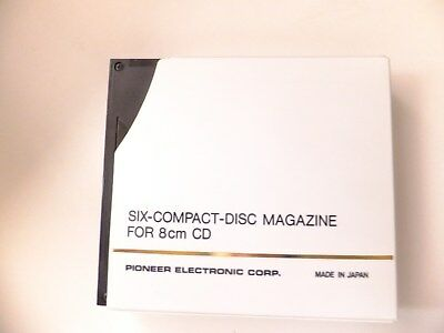 pioneer six -compact- disc magazine for 8cm cd