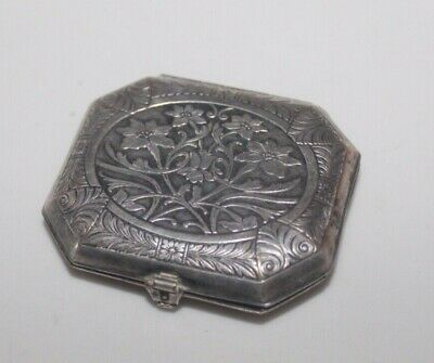 Vintage Compact Vanity Case Karess Bourjois New York Paris