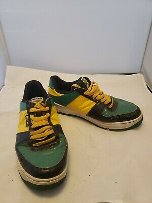 Pro-Keds 142nd Jamaica  Flag Lo Mens Sneakers Athletic Shoes Lace Up Size  11 M