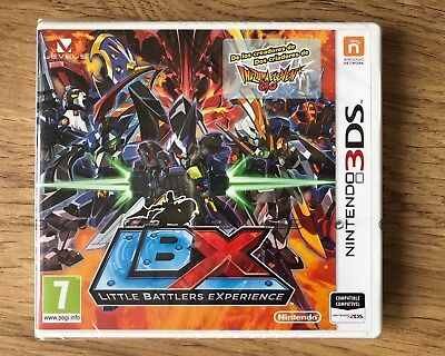 Lbx Little Battlers Experience Nintendo 3Ds Pal España Nuevo Precintado New 2Ds