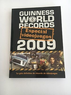 Libro Guiness World Records 2009 Especial Videojuegos Snes Ps1 Ps3 Megadrive Nes
