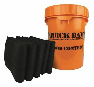Quick Dam Flood Barrier Emergency Kit, 10 ft. Length, 5 PK  Polypropylene