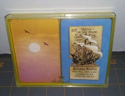 2 Complete Decks of Hallmark Bridge Playing Cards Pirate Ship Sales at Auction