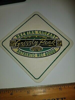 Beer Coaster ~ SOUND TO SUMMIT Brewing Co ~ Snohomish WASHINGTON; Peak Interest