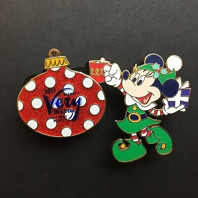 WDW - MVMCP 2017 - Minnie Mouse and Ornament Set Disney Pin 125404