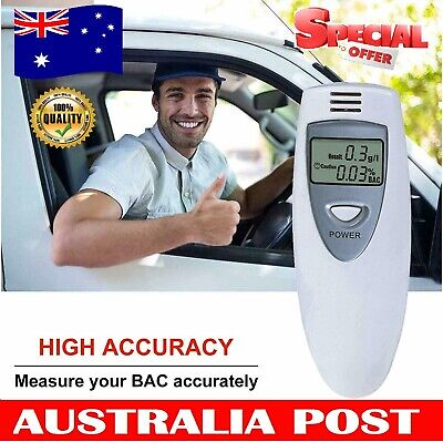 Professional Breathalyzer Portable Breath Alcohol Tester Digital Alcohol Detect