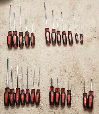 Craftsman (Made In USA) 25 Pc Professional Premium Screwdriver Set , Mechanics