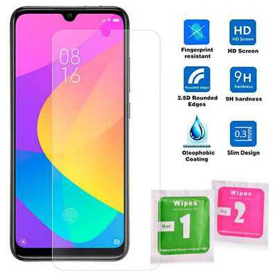 Flat Tempered Glass 2.5D 9H Screen Protector Cover for Xiaomi Mi A3 / CC9e Clear
