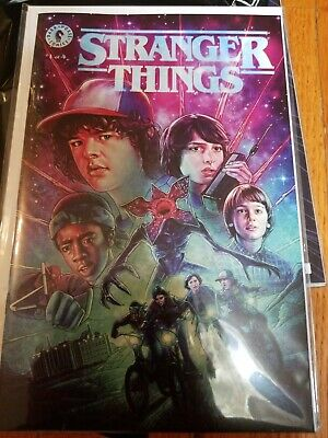 NYCC19 Stranger Things #1 Dark Horse GITD Exclusive Comic Book Cover Variant