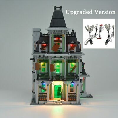 Upgraded version LED Light Up Kit For LEGO Monster Fighters Haunted House 10228