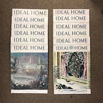 The Ideal Home Magazine: Complete 12 Issue Set: Jan-Dec 1948
