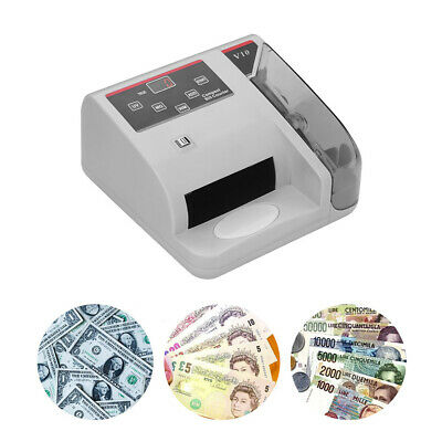 Money Counter Currency Cash Bill Counting Machine Detector UV/MG/WM C4Y2