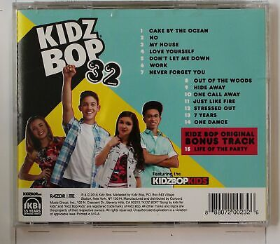 Kidz Bop 32 (Biggest Hits Sung By Kids For Kids) US CD (1 Bonus Track Incl.)2016