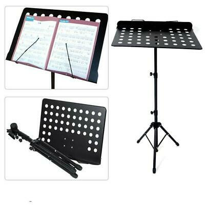 Heavy Duty Orchestral Sheet Music Stand Tripod Base Adjustable