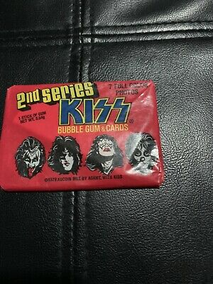 1978 Donruss KISS series 2 Wax Pack Trading Cards