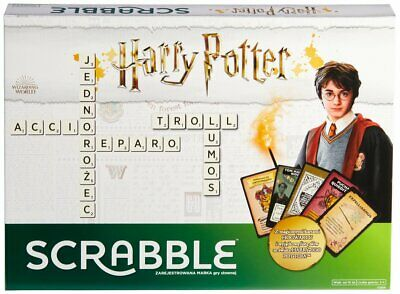 Scrabble Harry Potter Welcome To Hogwarts Edition Classic Crossword Board Game