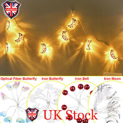 Colour Changing LED Orange Pink Butterfly Battery Operated Light Cute Gift BNIB