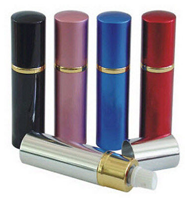 LIPSTICK PEPPER SPRAY NEW WOMEN Self Defense Protection Security RESTRICTED *