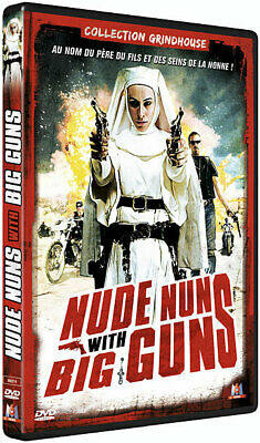 Collection Grindhouse - Nude Nuns With Big Guns  [DVD] NEUF cellophané
