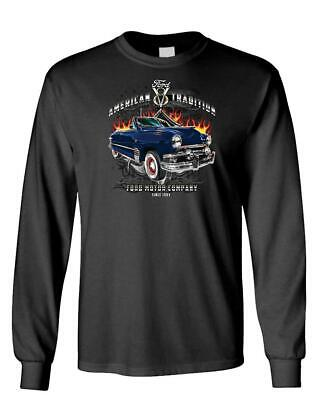 American Tradition Ford Motor Company - Long Sleeved T-Shirt Tee Shirt