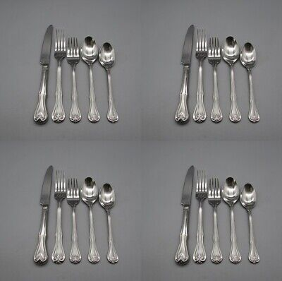 20pc SET - Reed & Barton Stainless BRISTOL Service for Four *