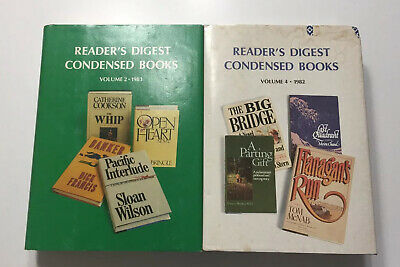 Vintage Readers Digest Condensed Books 1982 & 1983