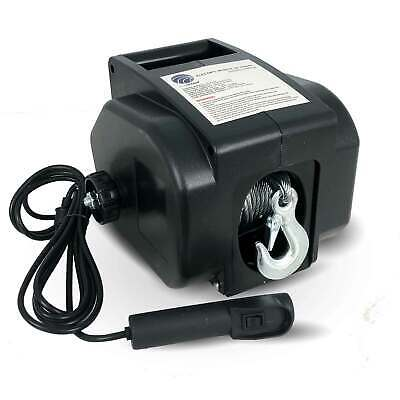 Electric Portable Trailer Recovery Winch, 2000 LBS Five Oceans FO-3440