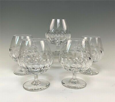 Set 5 Saint Louis St. Louis Paris French Crystal Brandy Snifter Glass