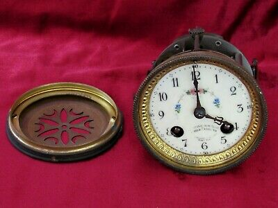 Great 8 Day Antique French Striking Clock Movement