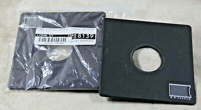 K.B. CANHAM 110mm LENS BOARD Drilled 35mm (COPAL #0) MINT Condition